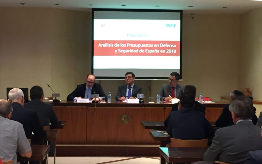 ANÁLISIS DE LOS PRESUPUESTOS EN DEFENSA Y SEGURIDAD DE ESPAÑA DE 2018