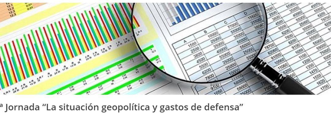 """Iª Jornada """"La situación geopolítica y gastos de defensa"""" en Adalede"""