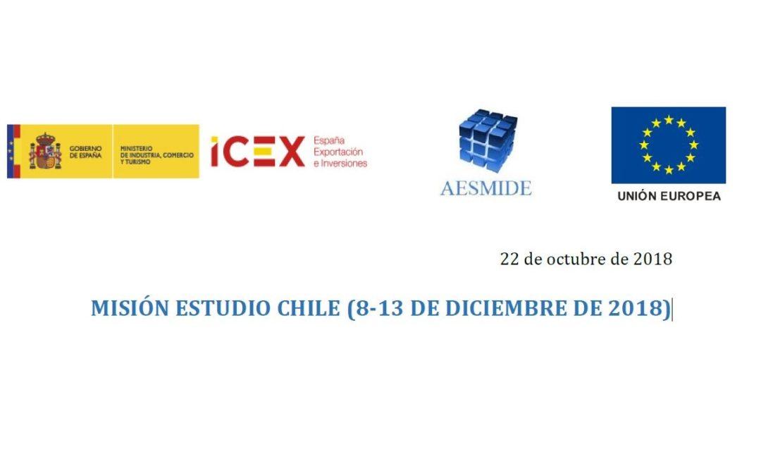 MISIÓN ESTUDIO CHILE CON APOYO DEL ICEX