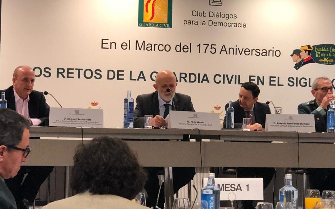 DESAYUNO INFORMATIVO CON EL DIRECTOR GENERAL DE LA GUARDIA CIVIL