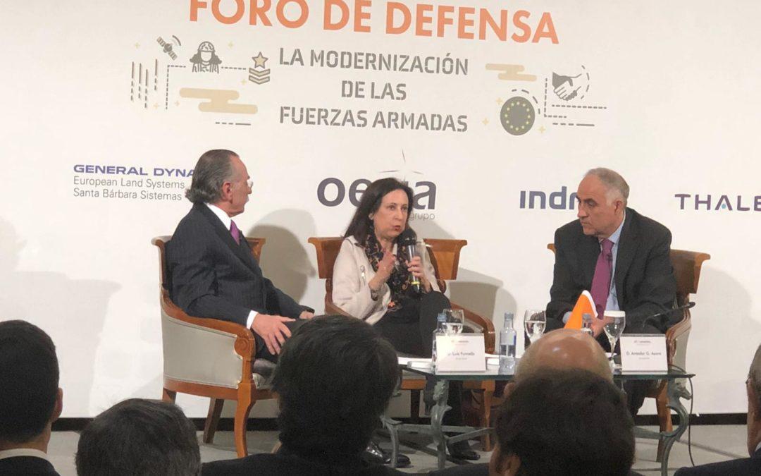 FORO DE DEFENSA: LA  MODERNIZACIÓN DE LAS FUERZAS ARMADAS
