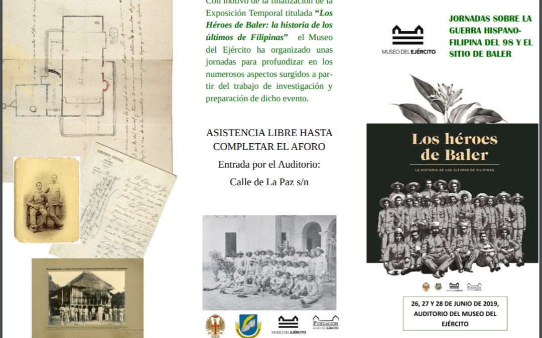 Jornadas Guerra hispano-filipina del 98 en el Museo del Ejército