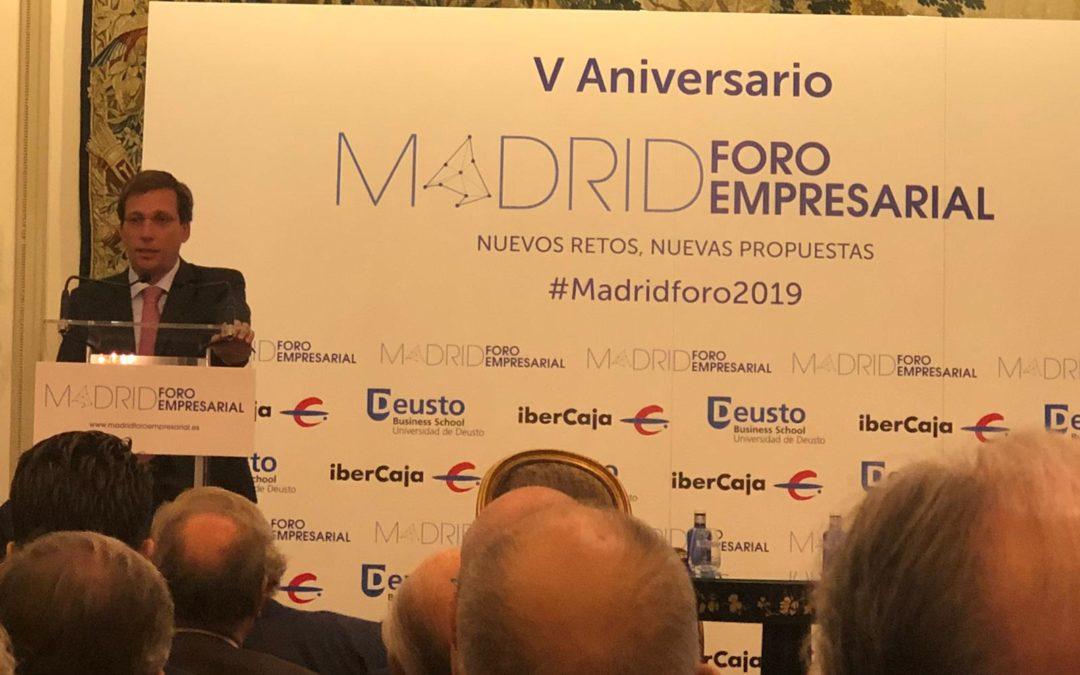 V ANIVERSARIO MADRID FORO EMPRESARIAL