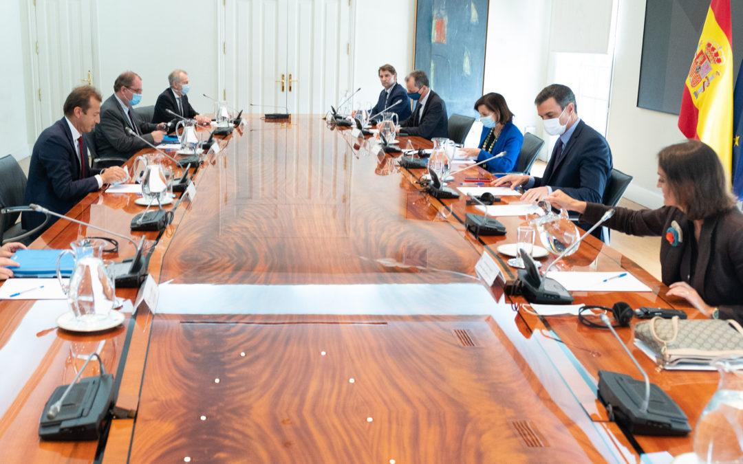 El Gobierno de España junto con Airbus han acordado adoptar una serie de acciones extraordinarias para abordar la crisis del sector de la industria aeroespacial