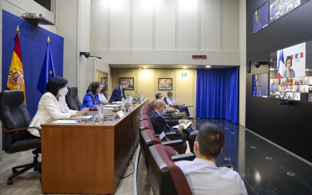La Ministra de Defensa participa en el encuentro sobre Consultas Internacionales para la situación del Sahel, particularmente en Malí