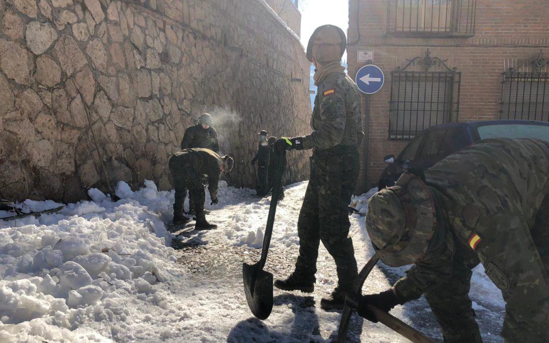 Video: La exhaustiva labor de las Fuerzas Armadas posterior a la borrasca Filomena y la ola de frío