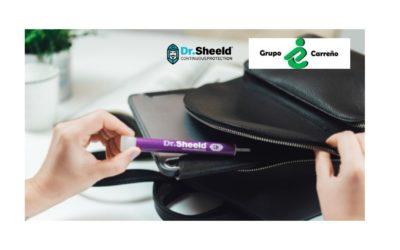 Grupo Carreño se convierte en el distribuidor nacional  del dispositivo de desinfección portátil Dr. Sheeld para la Administración Pública