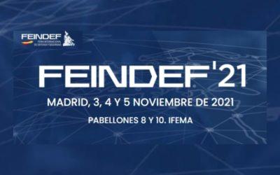 Se celebró un encuentro digital con la Gerencia de FEINDEF y las empresas asociadas de AESMIDE para la presentación de la feria FEINDEF 2021