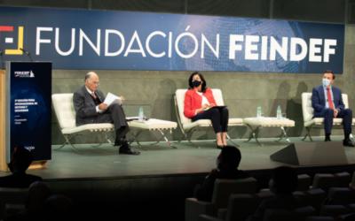 FEINDEF 2021, se celebró la presentación de la principal Feria de Defensa y Seguridad de España, el acto fue presidido por la Secretaria de Estado de Defensa y el Presidente de Fundación FEINDEF