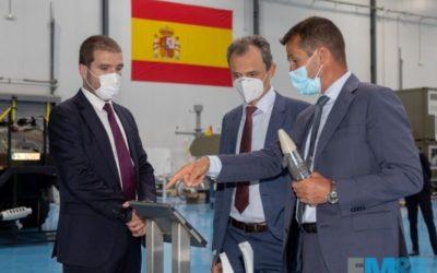 Escribano Mechanical & Engineering recibe la visita del Ministro de Ciencia e Innovación