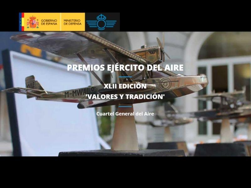 Se abre la convocatoria para los Premios Ejército del Aire en su XLII edición «Valores y tradición»
