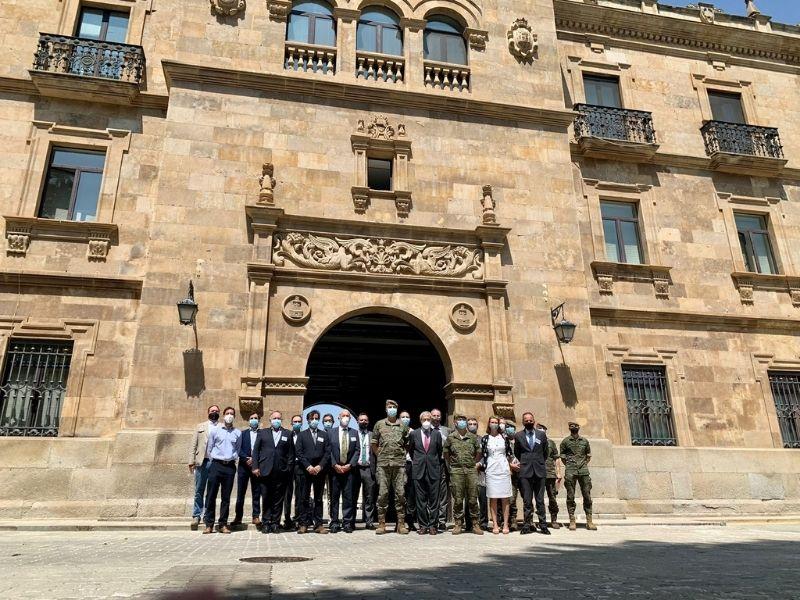 Aesmide organizó una Jornada con el Mando de Ingenieros del Ejército de Tierra el pasado 22 de julio en el Acuartelamiento General Arroquia, Salamanca