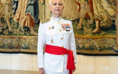 Begoña Aramendía se convierte en la segunda mujer general en las Fuerzas Armadas españolas que llega a la cúpula militar