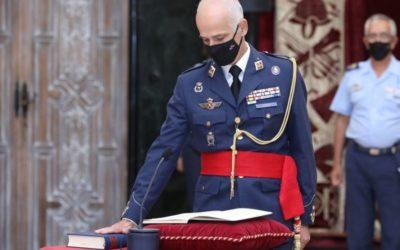 El ascenso del teniente general José Luis Pardo Jario como nuevo jefe del Mando de Apoyo Logístico (MALOG) del Ejército del Aire