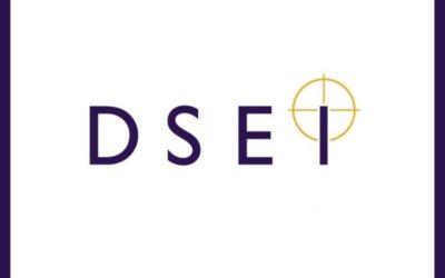 Inauguración de la feria Defence and Security Equipment International (DSEI) en Londres
