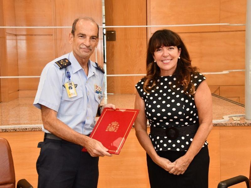 """El INTA firma un protocolo con la asociación """"The Legacy"""" para la difusión de la historia común entre España y Estados Unidos"""