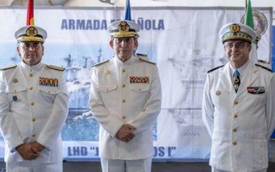 España asume el mando de la Fuerza Marítima Europea (EUROMARFOR)