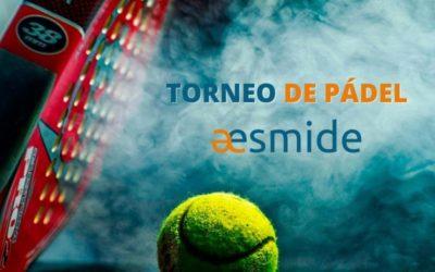 Aesmide celebra con sus asociados el primer torneo de pádel en el Club Deportivo Somontes
