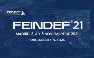 FEINDEF ha dado a conocer el programa de actividades y conferencias que se desarrollará durante los días de la feria: 3, 4 y 5 de noviembre