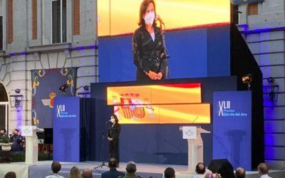 Valores y tradición han sido el hilo conductor de la gala de entrega de los XLII Premios Ejército del Aire